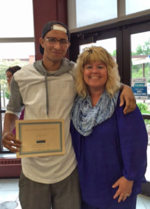 Jaleel's Graduation